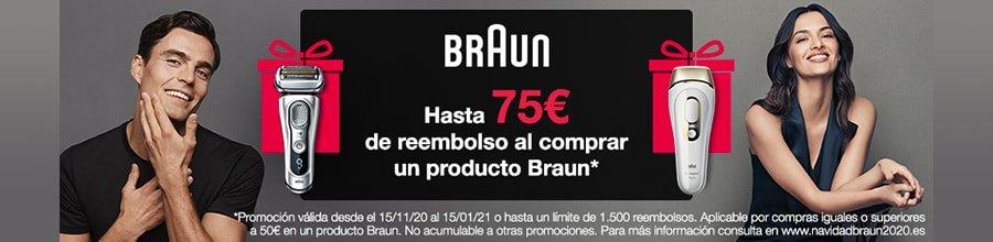 75 euros de reembolso con Braun