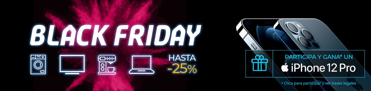 Ofertas Black Friday - Sorteo iPhone 12 Pro