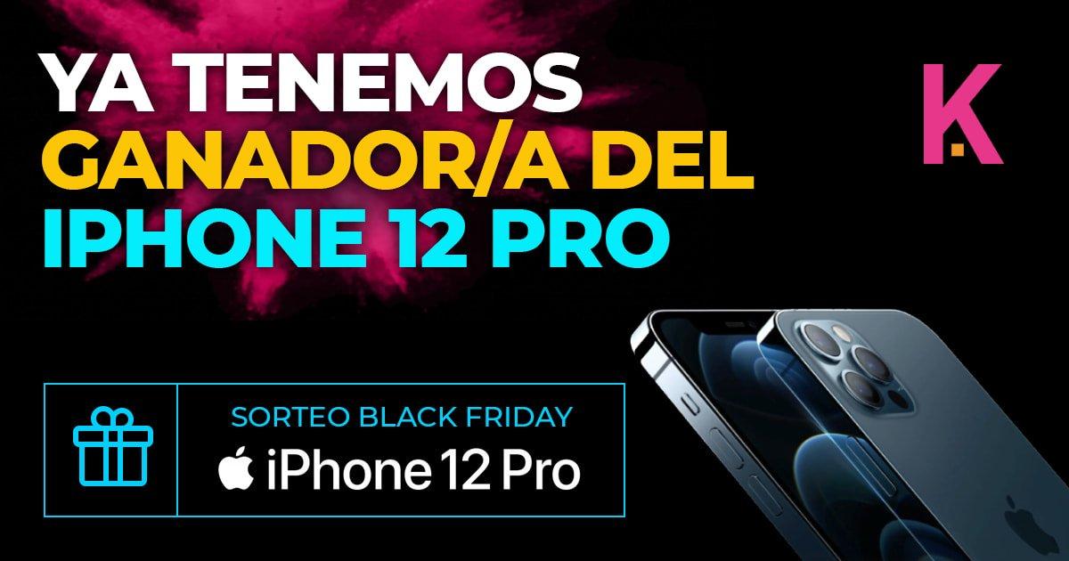 Ganador iPhone 12 Pro