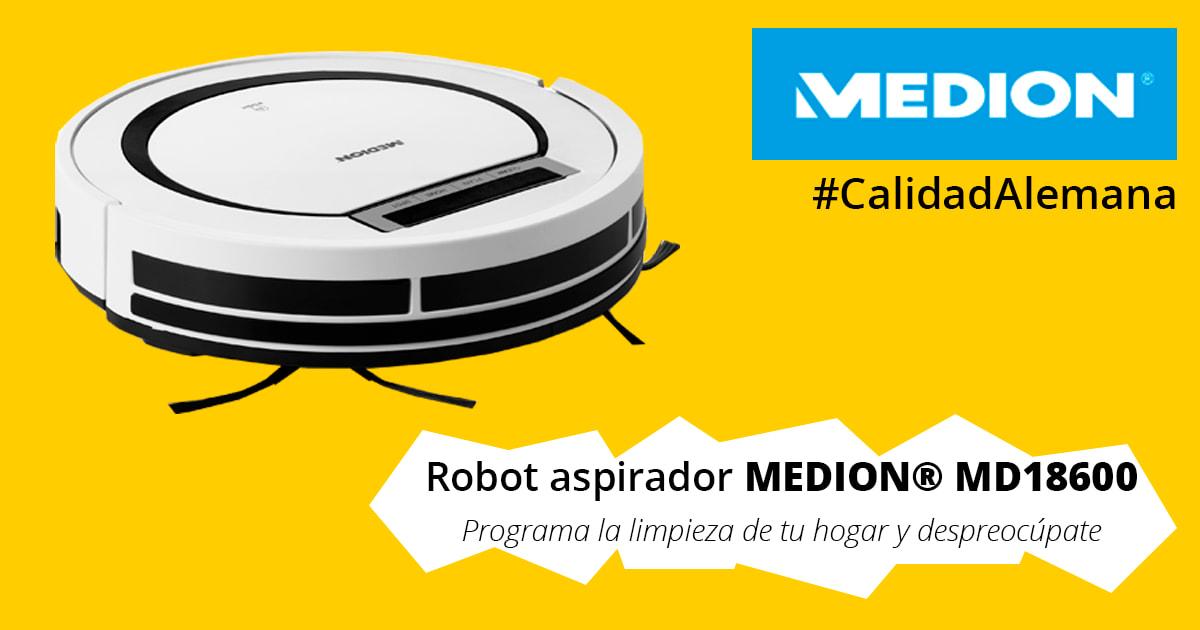 Robot Aspirador Medion