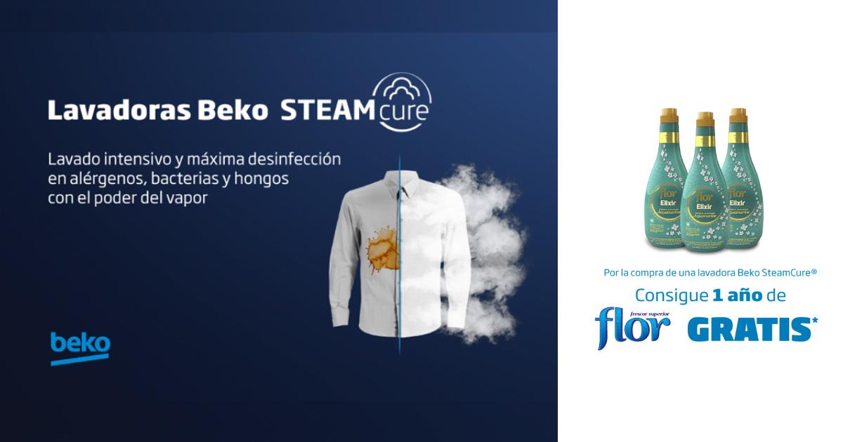 Nuevas Lavadoras SteamCure de Beko