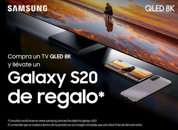 QLED 8K + Galaxy S20