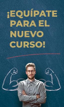 ¡Prepárate para el nuevo curso!