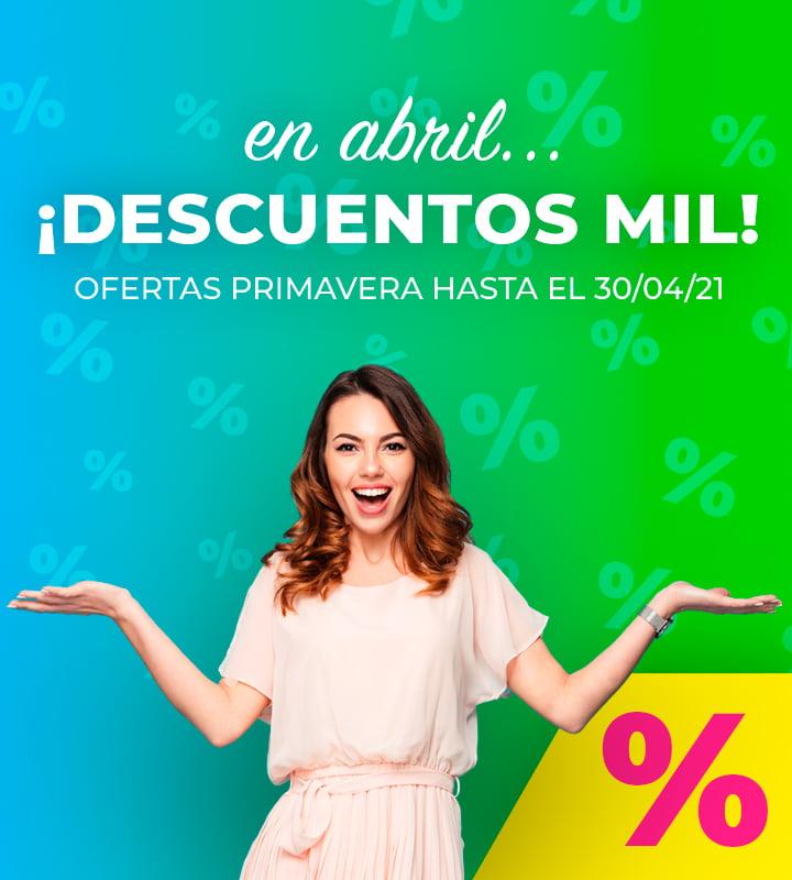 Ofertas Abril - Compra ahora y paga en 36 meses