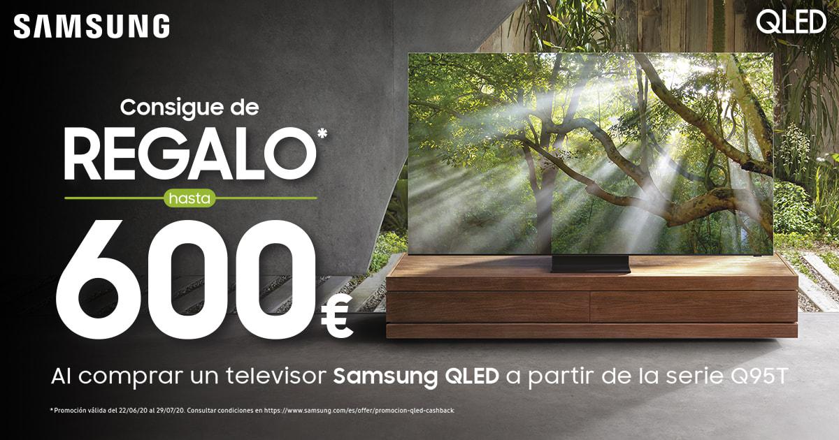 Cashback 600€ Samsung QLED