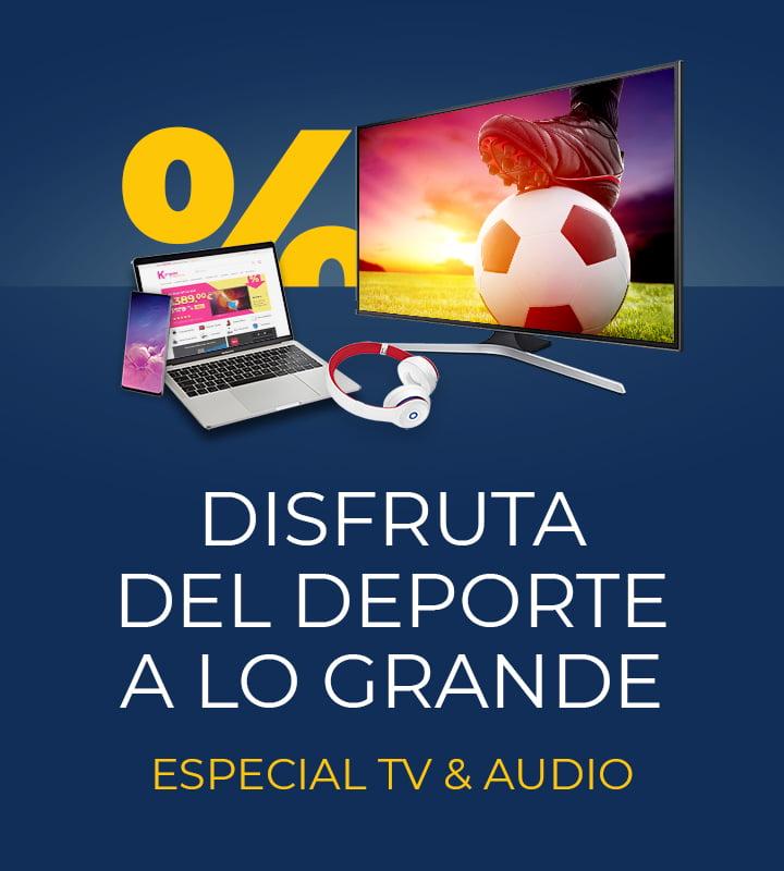 Especial TV gran pulgada ¡Disfruta del deporte a lo grande!