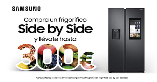 LLÉVATE HASTA 300€ CON TU SIDE BY SIDE