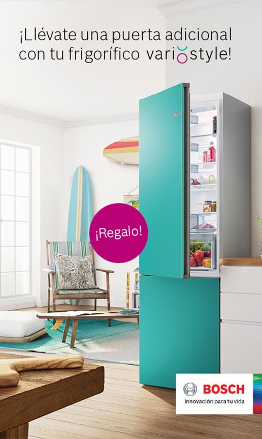 ¡Llévate una puerta adicional con tu frigorífico VarioStyle!